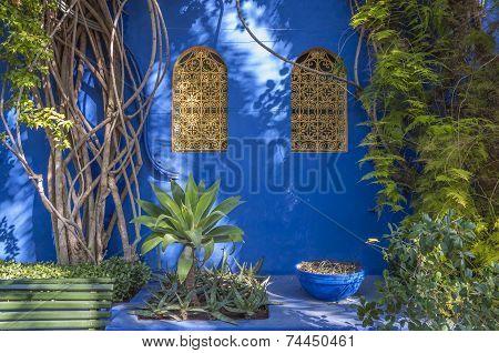 Majorelle Gardens In Marrakesh