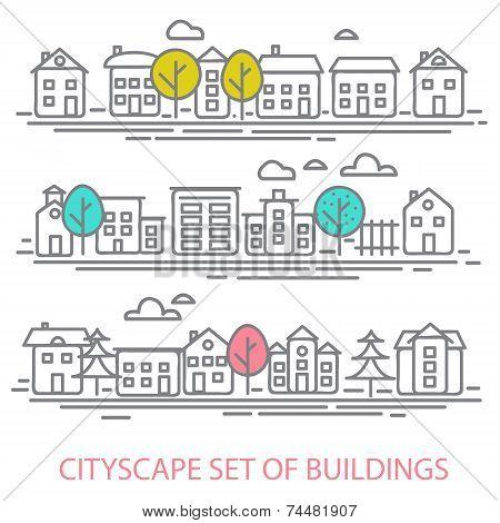 CITISCAPE SET