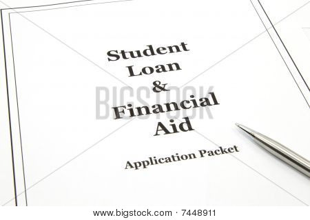 Student Loan And Financial Aid Application Packet