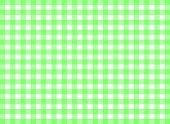 Easy tilable green gingham repeat pattern print, seamless background, wallpaper with fabric texture visible poster