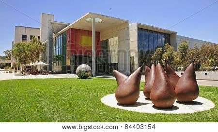 Canberra, Australia - December 18, 2014: National Gallery Of Aus