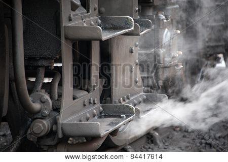 Steam Tran Footplate