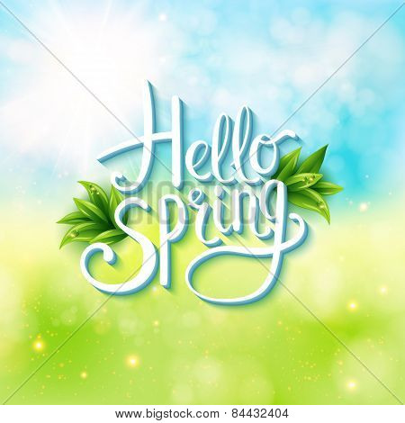 Welcoming the springtime - Hello Spring