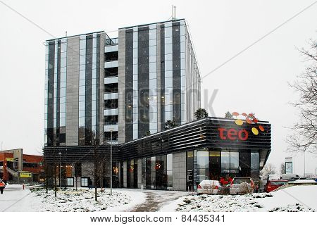 Lithuanian Telecomunications Operator Teo Office In Vilnius City