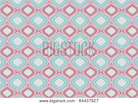 Pink blue pattern