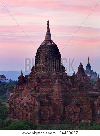 Sunset In Bagan, Myanmar