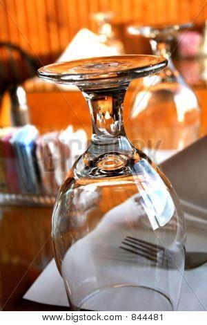 Empty Glass Upside Down