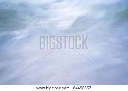 Abstract Background Color Blue Blurred