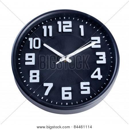 Clock Or Wall Clock . Wall Clock On A Background.