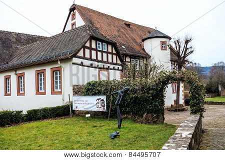 Birthplace of the Brothers Grimm in Steinau an der Straße, Germany