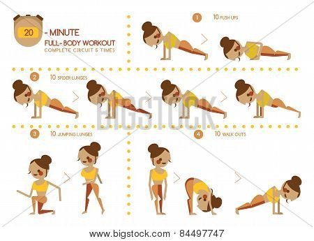 Twenty Minute full body workout