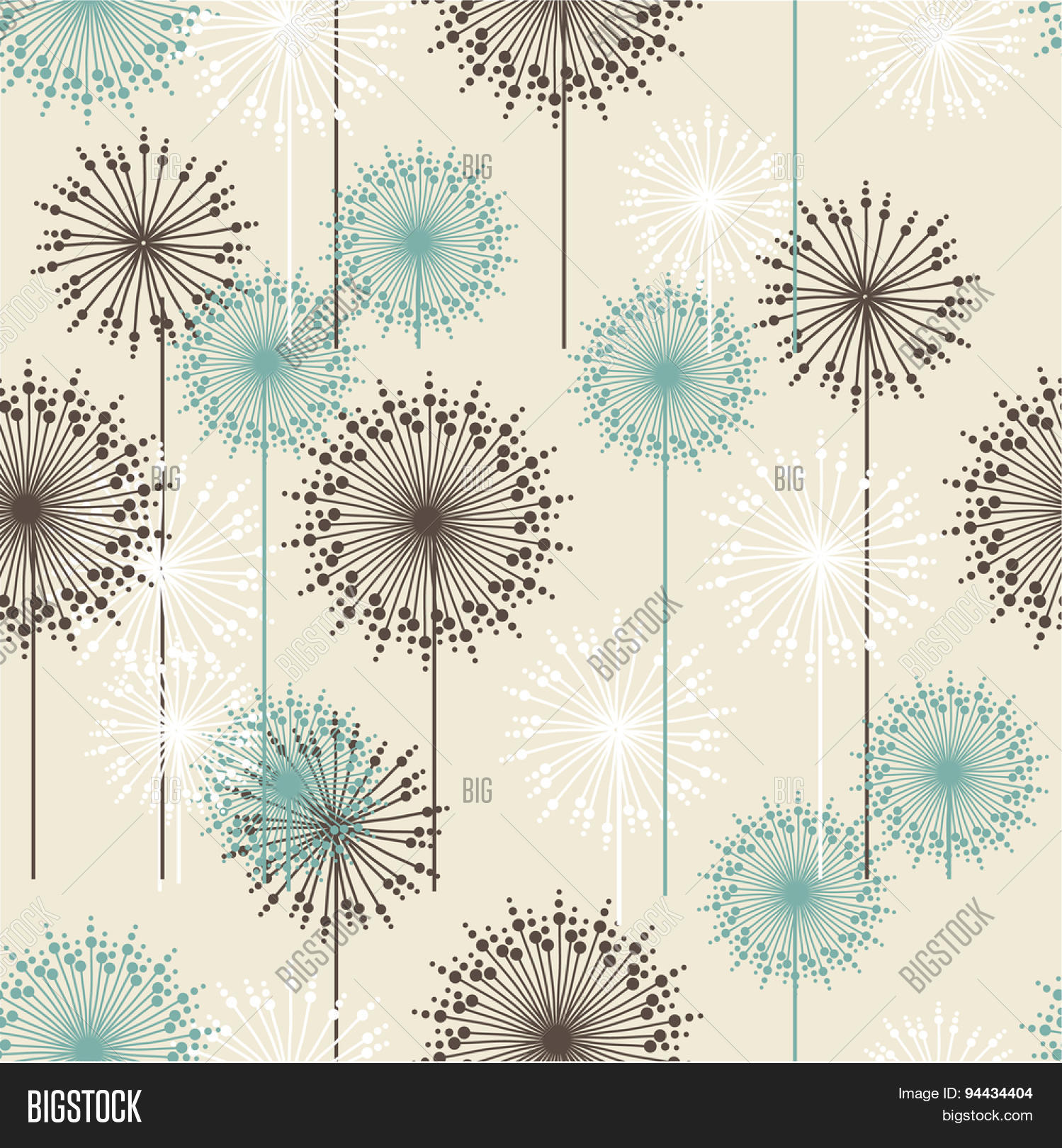 Vintage Floral Pattern Image Photo Free Trial Bigstock