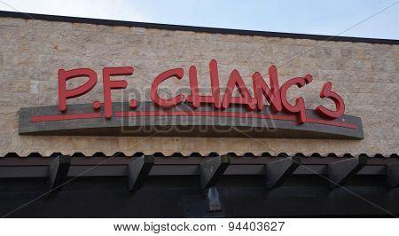 P.f. Chang's Store Logo