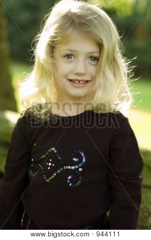 Smiling Sunshine Girl