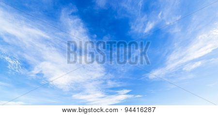 Cloud With Blue Sky Panorama