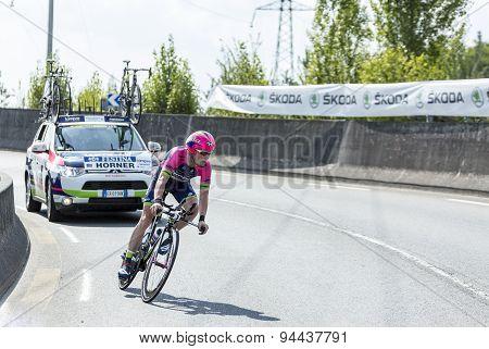 The Cyclist Chris Horner - Tour De France 2014