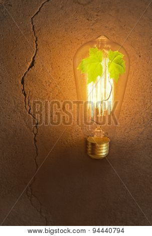 Edison Lightbulb Tree