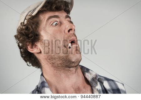 Shocked Redneck