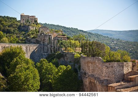 View Of Saint Saturnin Les Apt, Provence, France