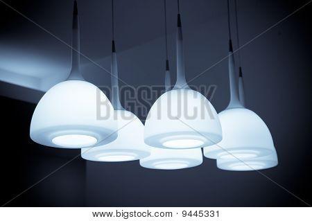Beautiful chandelier isolated