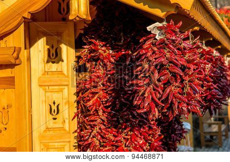 Bunch Of Red Paprika