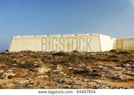 Fort of Sagres, Algarve, Portugal