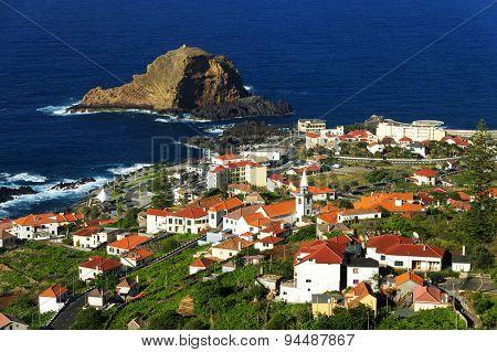 Porto Moniz in Madeira island, Portugal, Europe