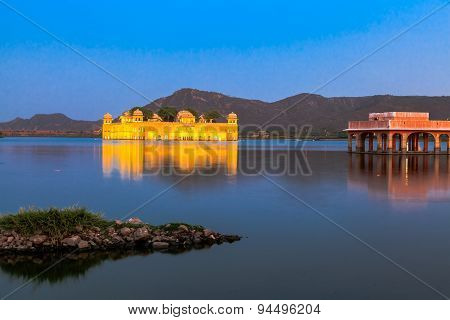 Jal Mahal In The Evening