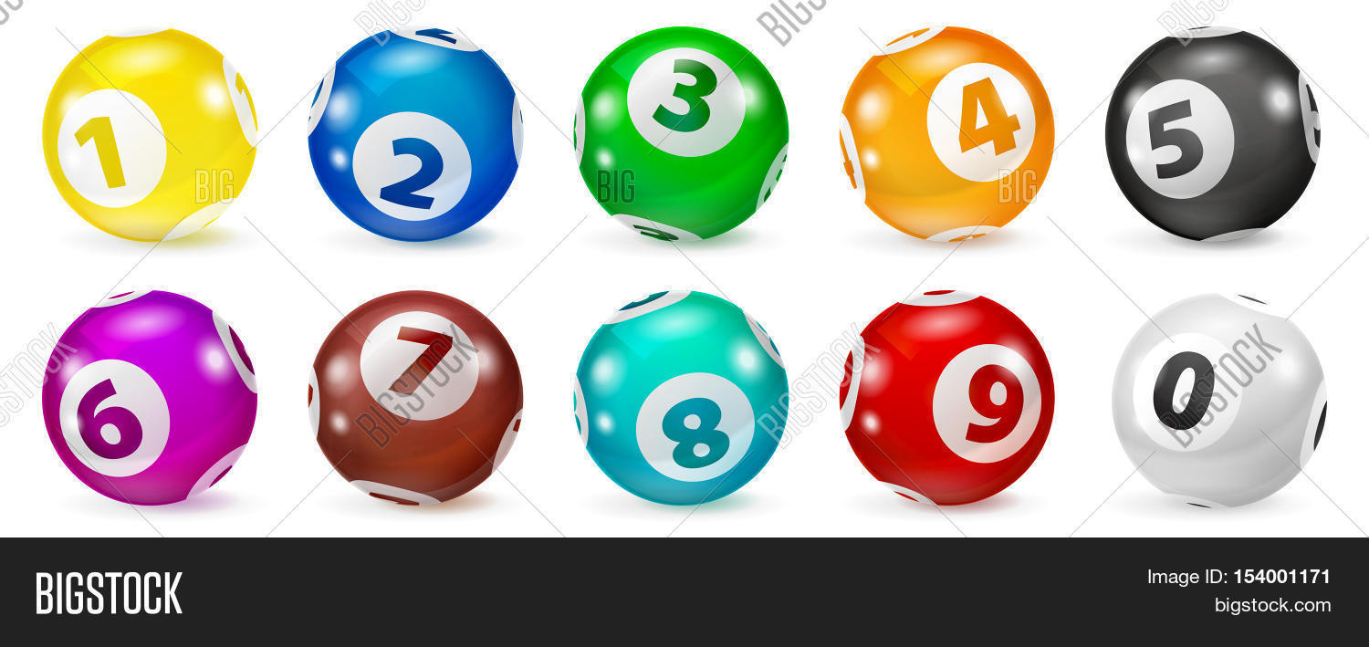 Lottery Number Balls  Image & Photo (Free Trial) | Bigstock