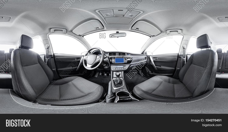 spherical panorama 360 inside car image photo bigstock. Black Bedroom Furniture Sets. Home Design Ideas