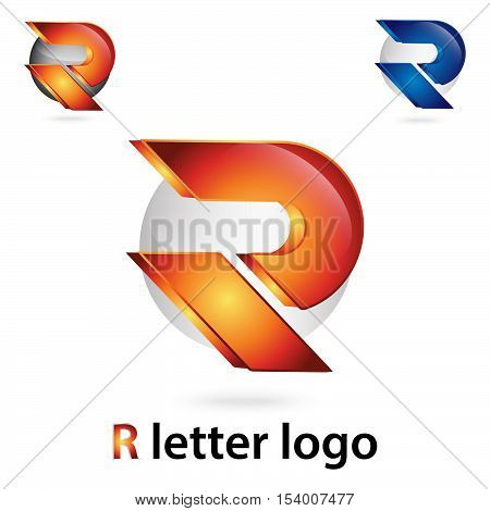 3d r letter logo 100% vector fully editable and resizable suitable for which letter is begining with letter r