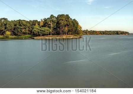 Kaunas Lagoon Slow Shutter Speed