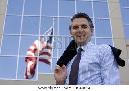Businessman Outside 3
