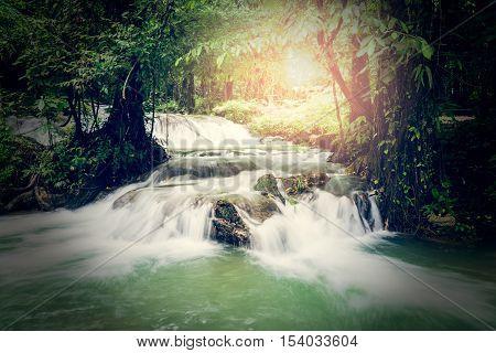 Sa Nang Manora Waterfall, Phang Nga, Thailand
