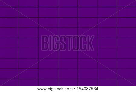 View of a Purple tiled wall suitable for backgrounds