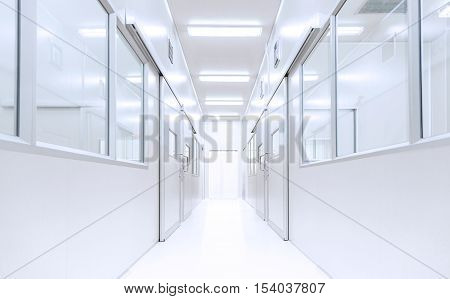 modern interior science lab background with lighting from gateway hospital background factory background