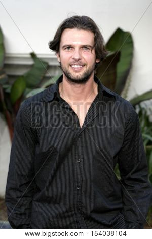 Matt Lindquist at the Los Angeles premiere of 'The Bourne Supremacy' held at the Cinerama Dome in Hollywood, USA on July 16, 2004.