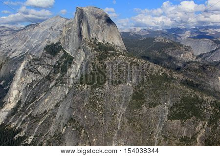 Yosemite National Park in California. United States of America