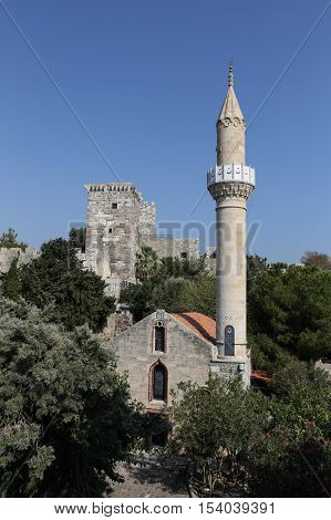 Bodrum Castle In Bodrum Town, Turkey