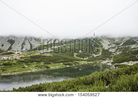 Panorama View From Lomnicky Shield In Tatras