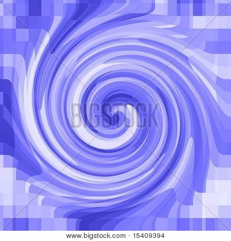 Blending Blue Swirl