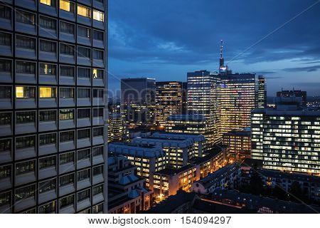 Cityscape Of Brussels