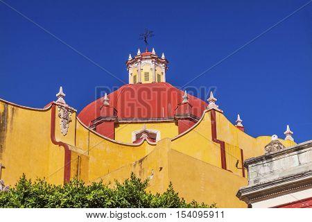 Dome Our Lady of Guanajuato Guanajuato Mexico Basilica de Nusetra Senora Guanajuato Mexico