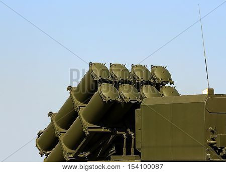 Mobile coastal missile system equipped with cruise missiles