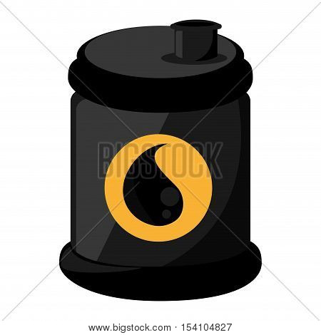 oil barrel tank isolated icon vector illustration design