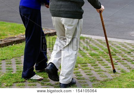Old People Walk