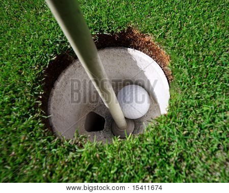 Hole In One In Golf
