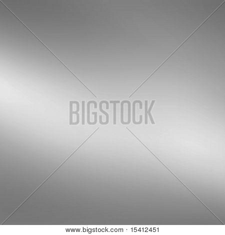 Large Brushed Metal Plate
