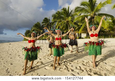 Polynesian Pacific Island Tahitian Dance Group
