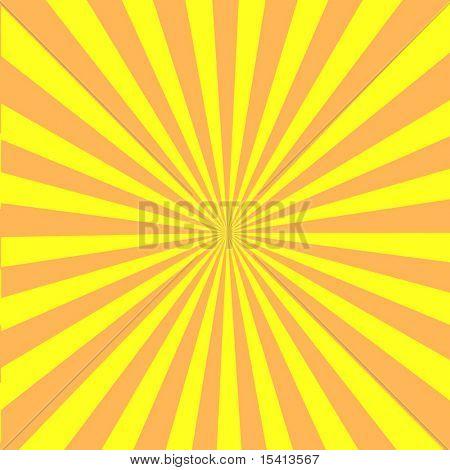 Vector Retro Sun Burst